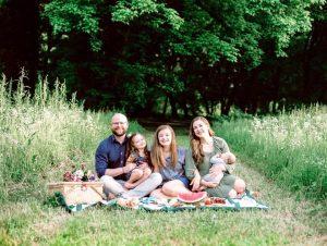 Pastor Matt Smith and his family